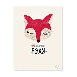 Michelle Carlslund Foxy Poster A4