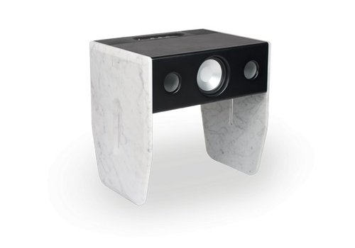 La Boite Concept Marble and Leather Speaker