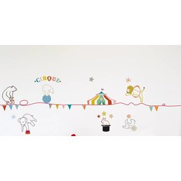 Mimilou Circus Wall Sticker