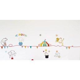 Mimilou Circus Wall Sticker