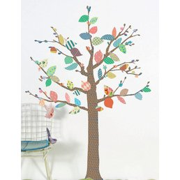 Mimilou Tree Patterns Wall Sticker (BIG)