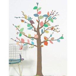 Mimilou Tree Patterns Wall Sticker (BIG)