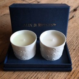 Alix Reynis Mini Scented Candle (Happiness/Trefle Incarnat)