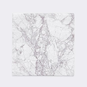 Ferm Living Grey Marble Napkins (Set of 20)