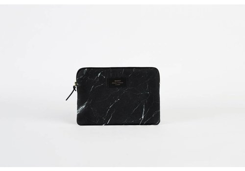 Woouf Black Marble Ipad Case