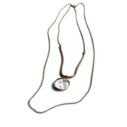 Linapoum Cameo Paper Big Necklace