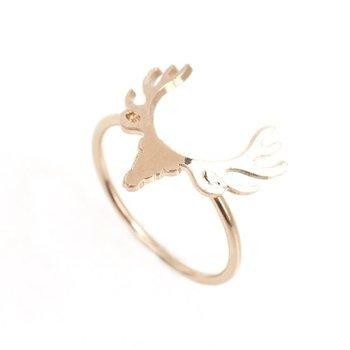 Linapoum Deer Ring