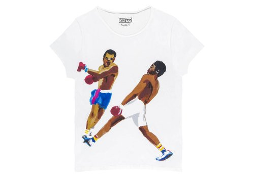 G. Kero La Boxe Men's T Shirt  White