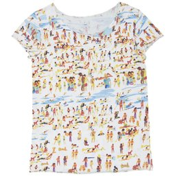 G. Kero The Beach Women's T-Shirt