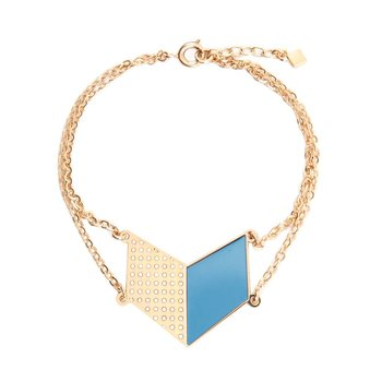 Alphabeta Chevron Bracelet