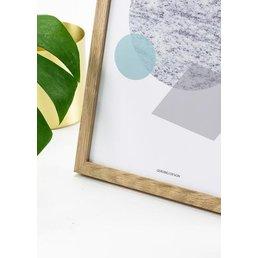Michelle Carlslund Oak Frame (30 x 40 CM)