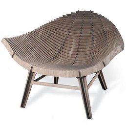 Ibride Manta Armchair Wood
