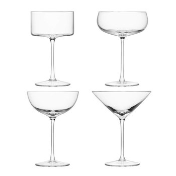 LSA International LULU Cocktail Glass Assortment (set of 4)