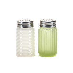 Serax Salt & Pepper Set (Jadite Green/Milk White)
