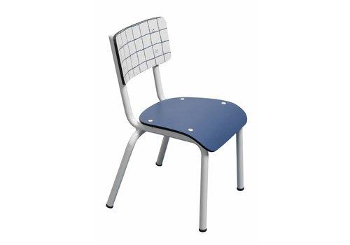 les Gambettes Little Suzie blue plaid chair