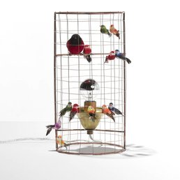 Mathieu Challieres Small Birdcage lamp