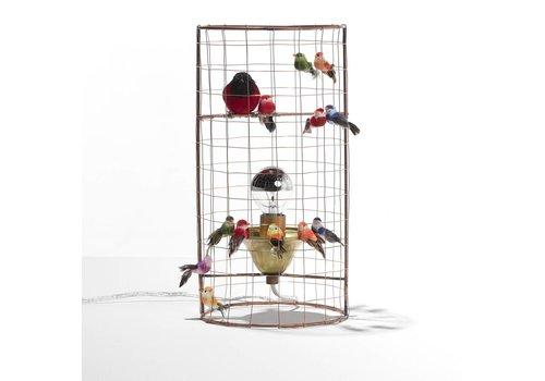 Mathieu Challieres Small Birdcage lamp