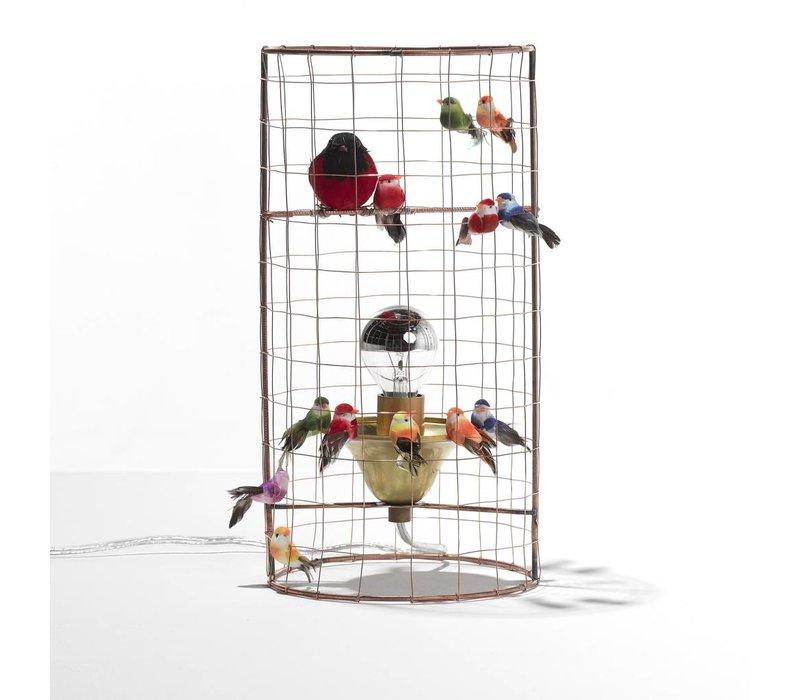 Small Birdcage lamp
