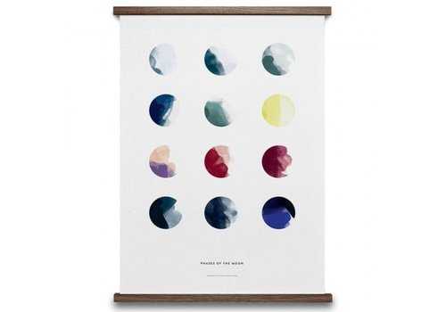 Paper Collective Moon Phases Print