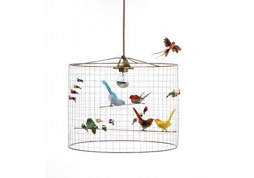 Mathieu Challieres Pendant lamp Small Birdcage Mathieu Challieres