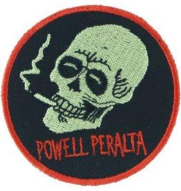 Powell Peralta smoking skull patch