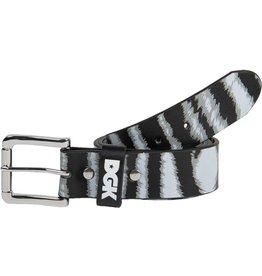 Dgk wildlife zebra belt blk/gry/wht