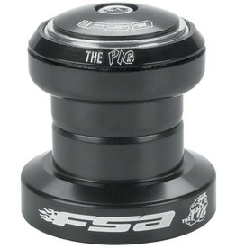 "FSA (Full Speed Ahead) FSA ""The Pig"" 1-1/8"" Threadless Headset, Black"