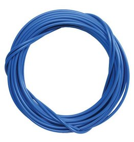 CABLE HOUSING SUNLT w/LINER 5mmx50ft BLU single