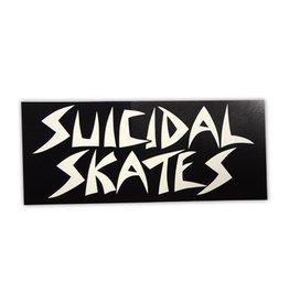 dogtown suicidal skates logo blk sticker
