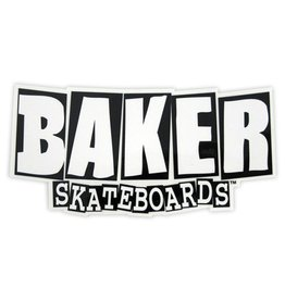 baker brand logo med sticker