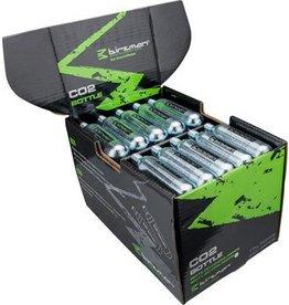 Birzman Birzman Zacoo 16g CO2 threaded Cartridges: Box of 50 single