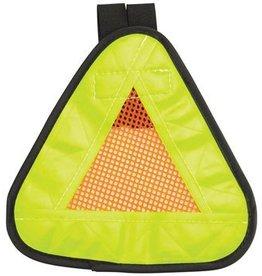 "Aardvark 8-18 Aardvark Reflective Triangle Yield Symbol 7x7"" with Velcro Strap"