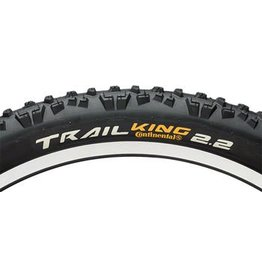 Continental 4-17 Continental Trail King Tire 27.5x2.2  ProTection Folding Bead and Black Chili Rubber