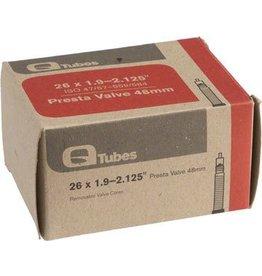 """Q-Tubes 6-17 Q-Tubes 26"""" x 1.9-2.125"""" 48mm Presta Valve Tube 171g"""