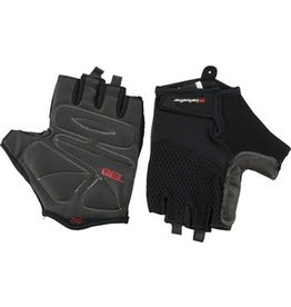Bellwether 8-17 Bellwether Gel Supreme Men's Short Finger Glove: Black 2XL