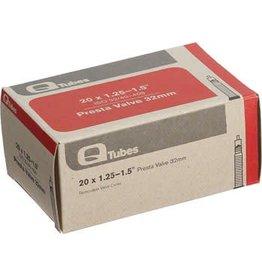 """Q-Tubes 9-17 Q-Tubes 20"""" x 1.25-1.5"""" 32mm Presta Valve Tube 92g"""