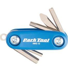Park Tool 1-18 Park Tool AWS-13 Micro Folding Hex Screwdriver Set