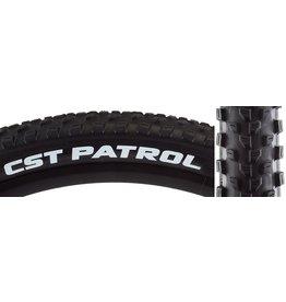CST PREMIUM 10-18 TIRES CSTP PATROL 27.5x2.8 BK/BK WIRE SC