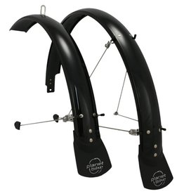 Planet Bike 7-18 FENDERS PB HARDCORE 26x60mm ATB w/MF 2010 BK