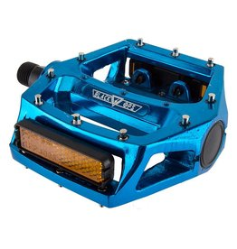 BLACK OPS 4-18 PEDALS BK-OPS PLATFORM ALY CRMO 9/16 BU-ANO STRAP COMPATIBLE