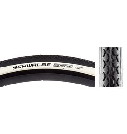 Schwalbe 10-18 TIRES SCHWALBE HS159 K-GUARD 27x1-1/4 BK/WH WIRE