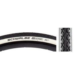 Schwalbe 5-18 TIRES SCHWALBE HS159 K-GUARD 27x1-1/4 BK/WH WIRE