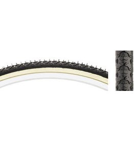 Kenda 5-18 Kenda K161 KrossCyclo Tire 27x1 3/8 Steel Bead Black/Tan