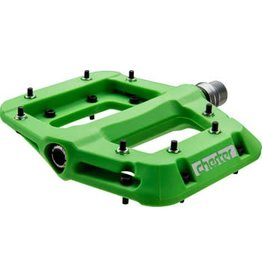 "RaceFace 7-18 Race Face Chester Composite Platform Pedal: 9/16"" Green"