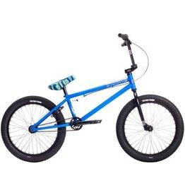 """Stolen 10-18 Stolen 2019 Casino 20"""" BMX Bike Matte Black/Ocean Breeze Blue"""