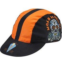 World Jerseys 10-18 World Jerseys Moab Especial Cycling Cap: Black/Orange