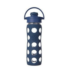 LifeFactory Lifefactory 16 oz Glass Bottle Flip Cap
