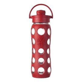 LifeFactory Lifefactory 22 oz Glass Bottle Flip Cap