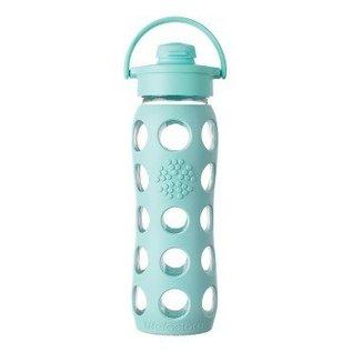 LifeFactory Lifefactory 22 oz Glass Bottle Flip Cap
