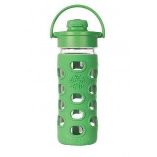 LifeFactory Lifefactory 12 oz Glass Bottle Flip Cap